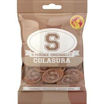 Sour Cola Candy S-Märke