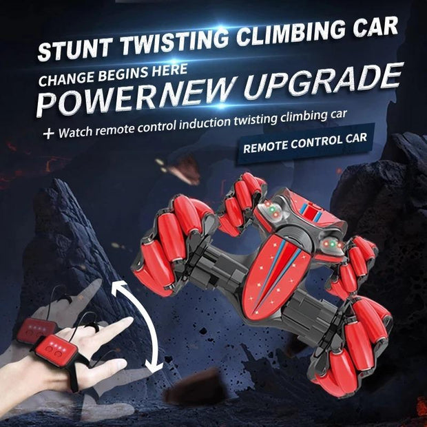CHRISTMAS LIMITED TIME OFFER-GESTURE CONTROL - DOUBLE-SIDED STUNT CAR(Buy 2 get Extra 15% Off, use code: BUY2)
