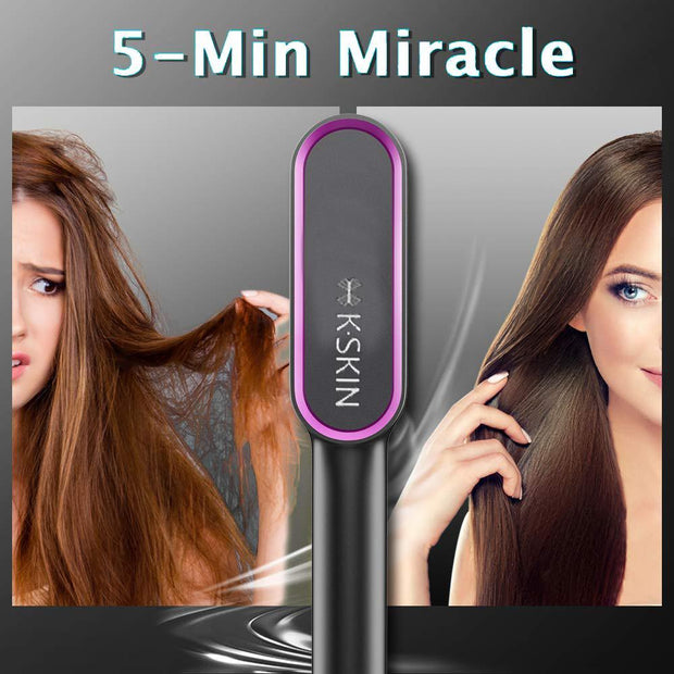 (50% off !!!)Magic fast straight hair heating comb