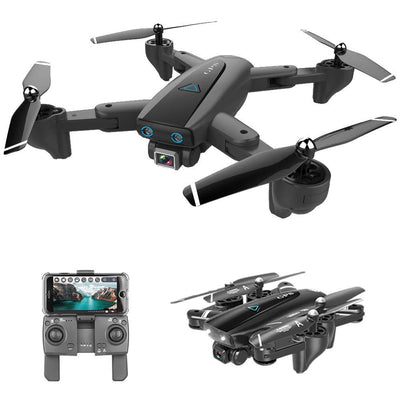 S167 Foldable Drone With GPS And 4K Adjustable Camera