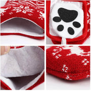 Pet Dog Christmas Stockings For Christmas Decor 2 PACK