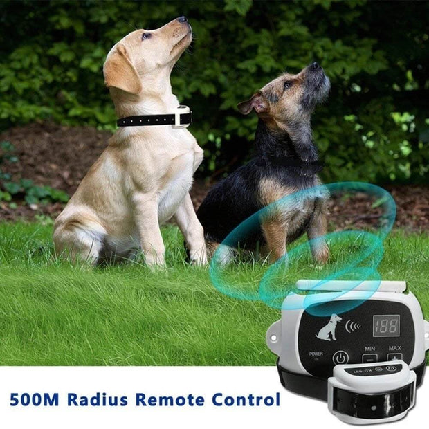 Wireless Electric Portable Invisible Dog Fence System with Multiple Collar