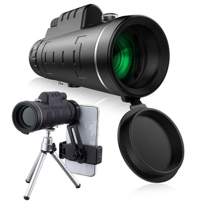 1000X Zoom Waterproof Monocular Mobile Telescope
