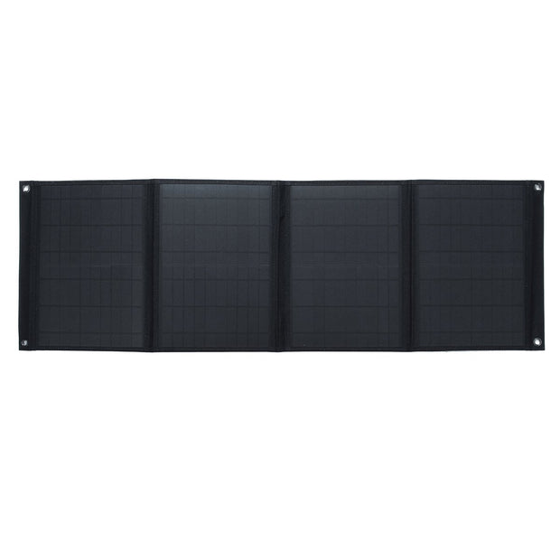 60W 5V/12V Foldable Solar Panel Charger Dual USB Ports Battery Charging Outdoor Camping