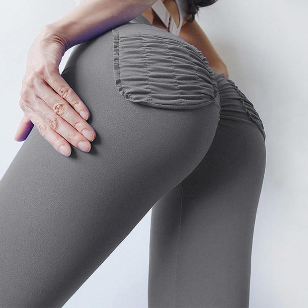Leggings - High Waist Bulid Hip Elastic Leggings