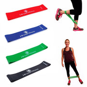 New Latex Rubber Resistance Gym Workout Training Bands