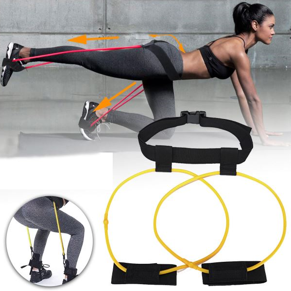 A Demonstration Of A Woman Performing Two Different Types of Workouts With The Tone-Lft™ X5 Resistance Training Bands. |  BuySpotUSA.com Exercise & Fitness Products
