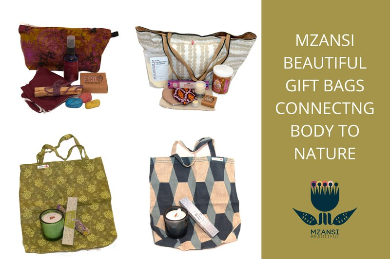 Part 1: Mzansi Beautiful Gift Bags for yoga and healing