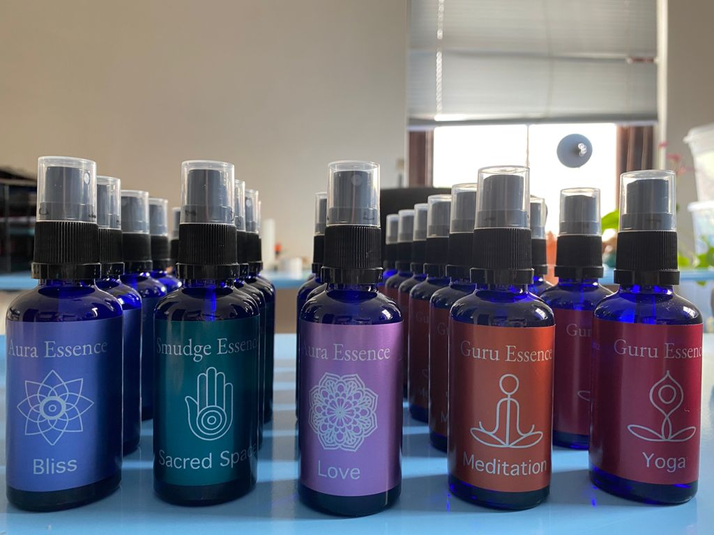 Aura Essences:  Essential Oils with Wellness Attributes