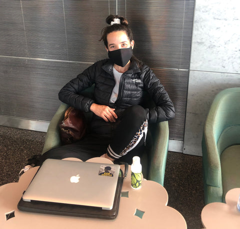 travel internationally with a mask