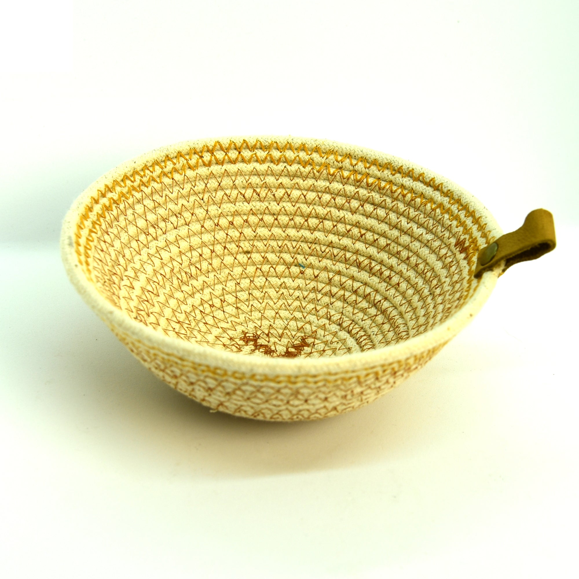 Rope Bowls - Small Brown Thread