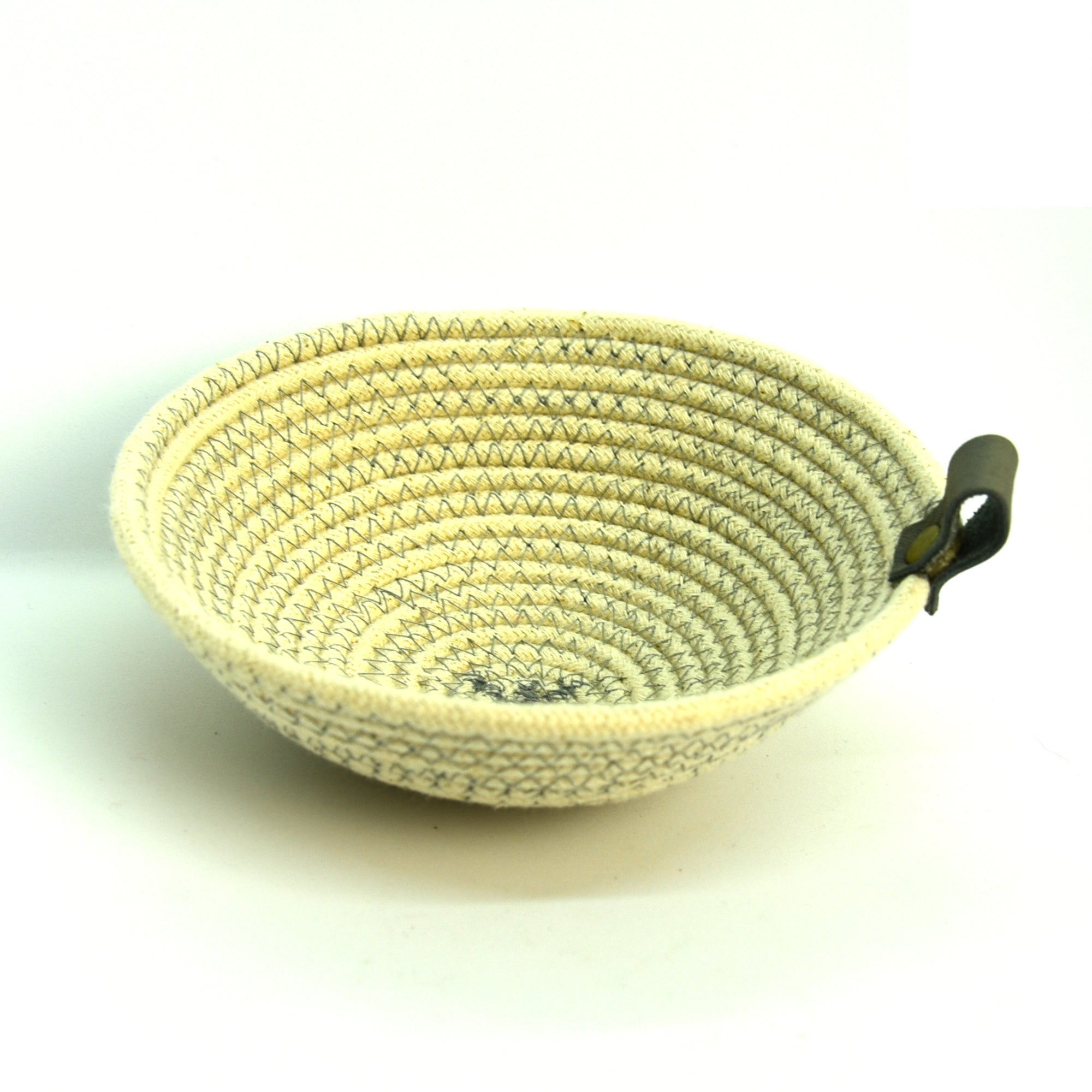 Rope Bowls - Small Grey Thread
