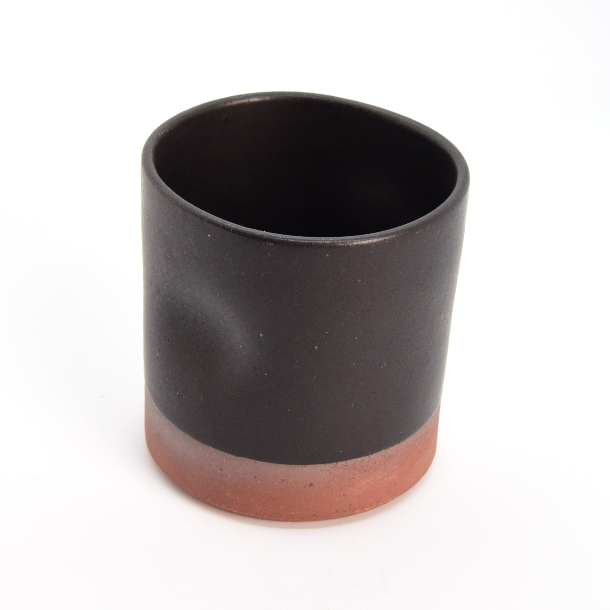 Ceramic Glass - Short - Brick + Black