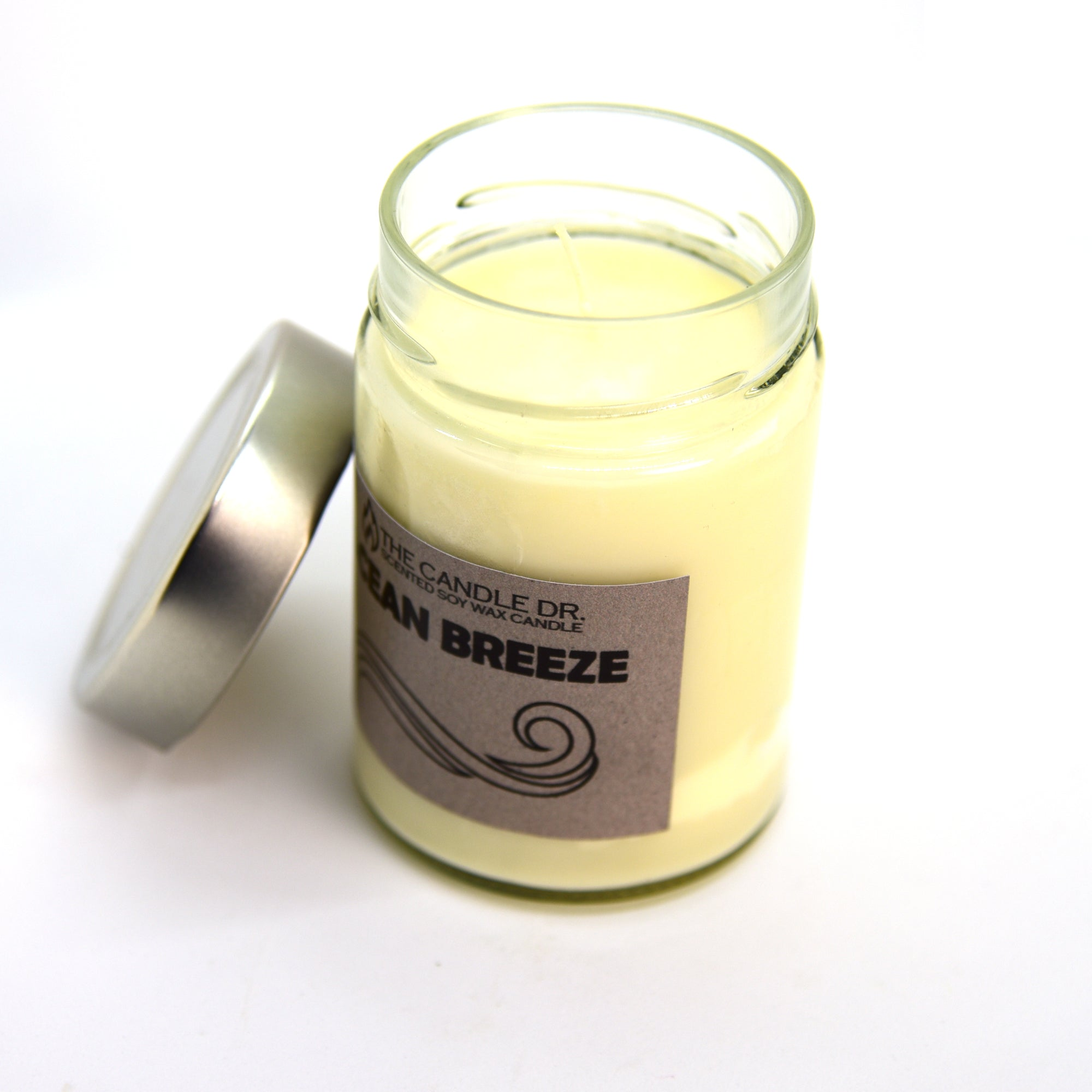 Large Soy Candle - Ocean Breeze
