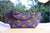 Shweshwe 3 Cats and denim reversible tote