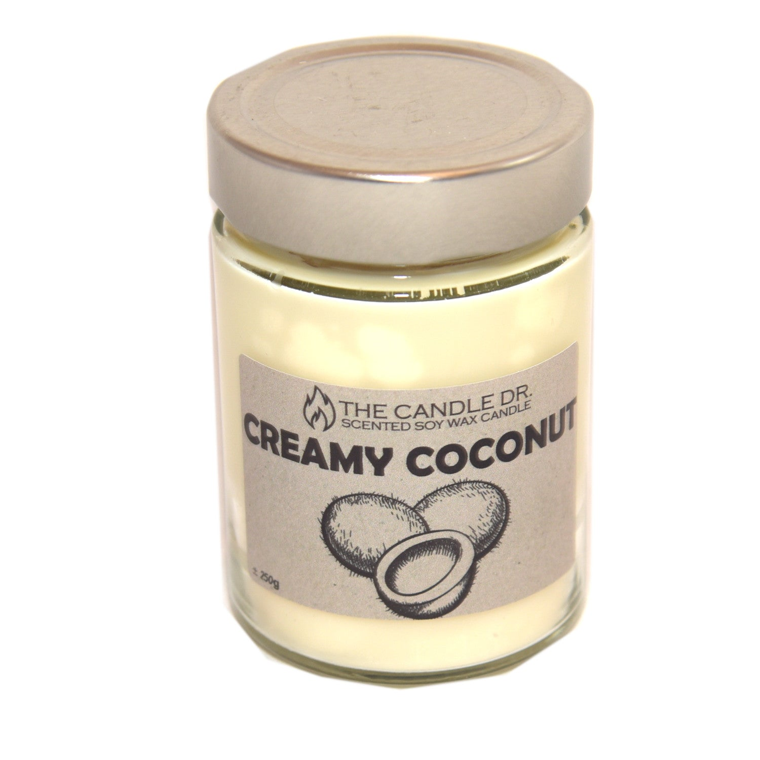 Large Soy Candle - Creamy Coconut