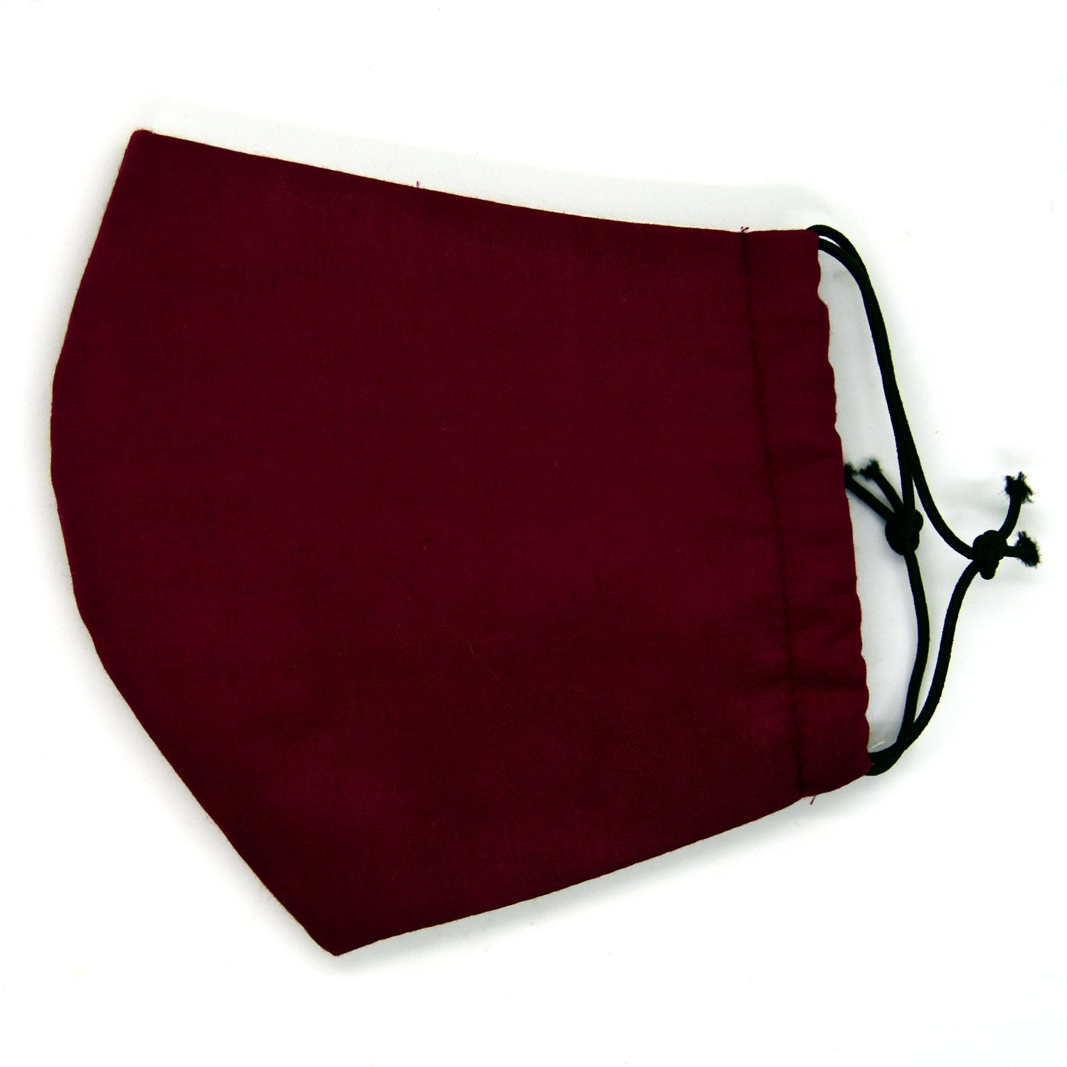 Burgundy Barrier Mask