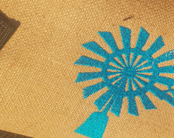 32e2e430b811c6 LIMITED EDITION HESSIAN BAGS FOR DROUGHT ANGELS