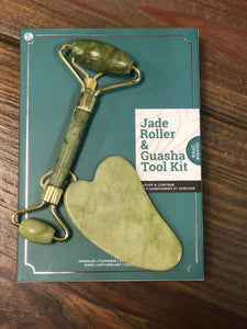 Jade Roller and Guasha Kit