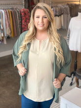 Load image into Gallery viewer, Curvy Chiffon Cardigan