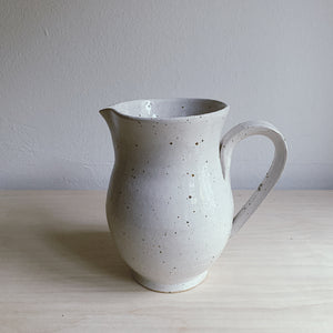 Stoneware pitcher - large