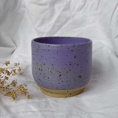 Coffee Cup Cubby- Lavender