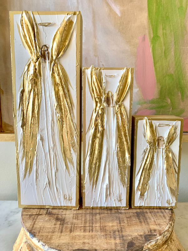 Gold-Leafed Angel Collection