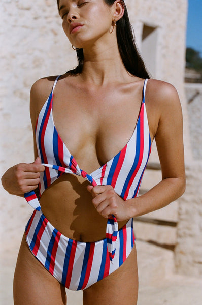 Frankie One Piece | Americana Stripe
