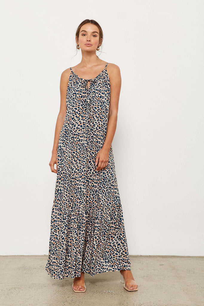Palmy Dress - French Leopard