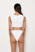 Lola Top - White Rib - Eco