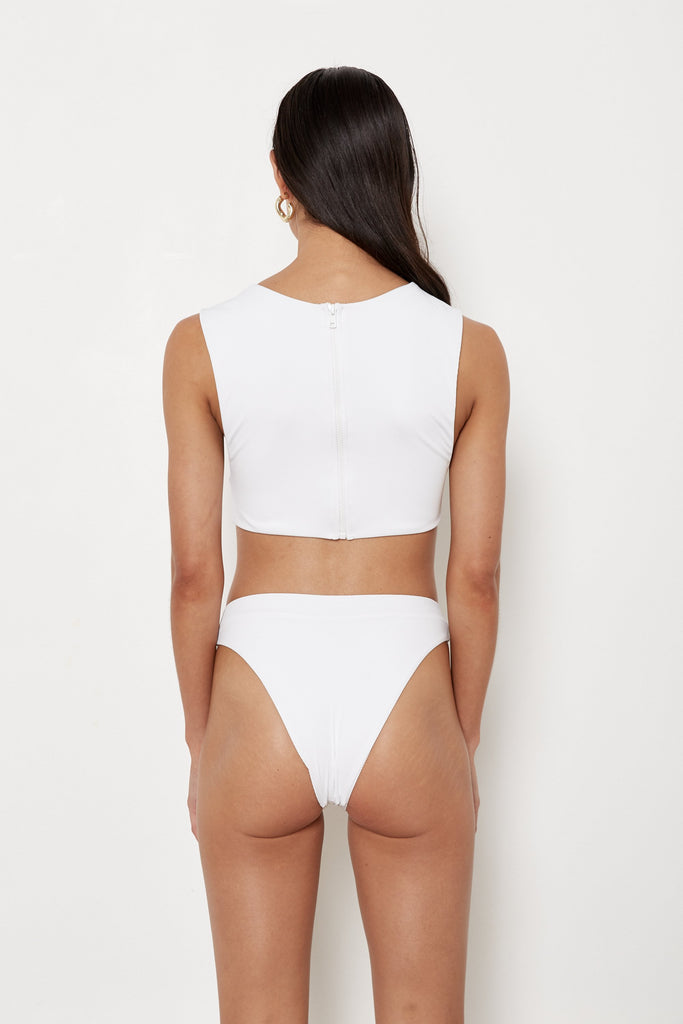 Rica Bottoms - White Rib - Eco
