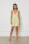 Lilah Dress - Lime Wildflower
