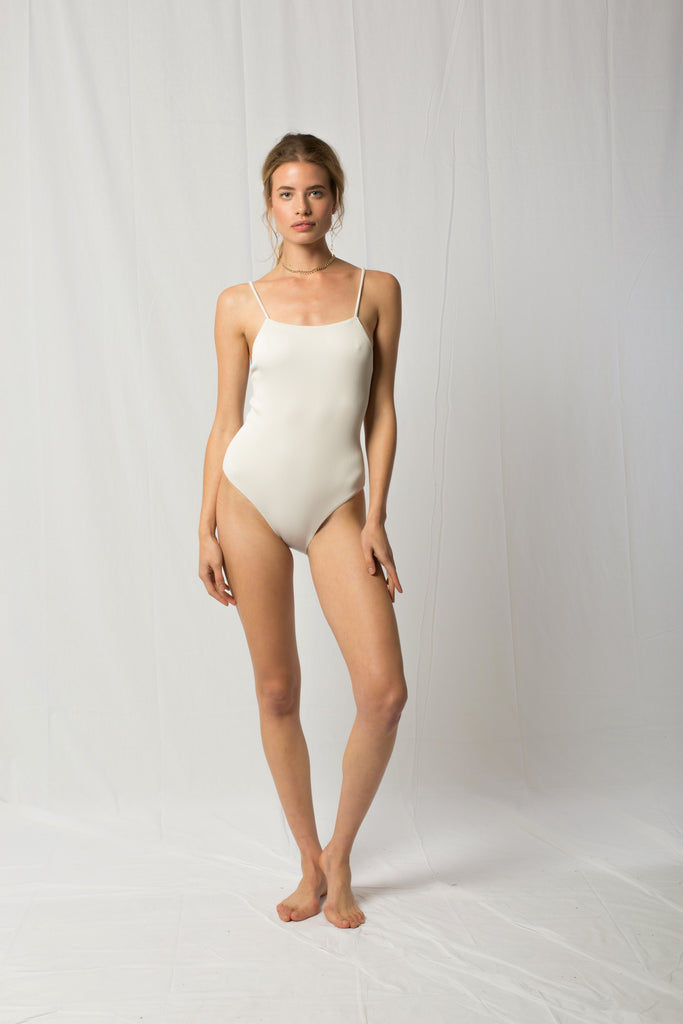 Lucy One Piece | White Sands Rib