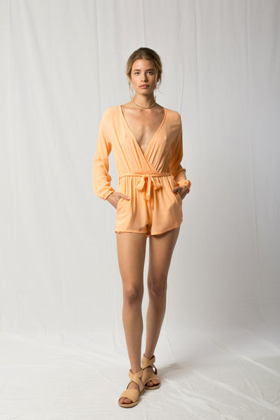 Burma Romper | Peaches