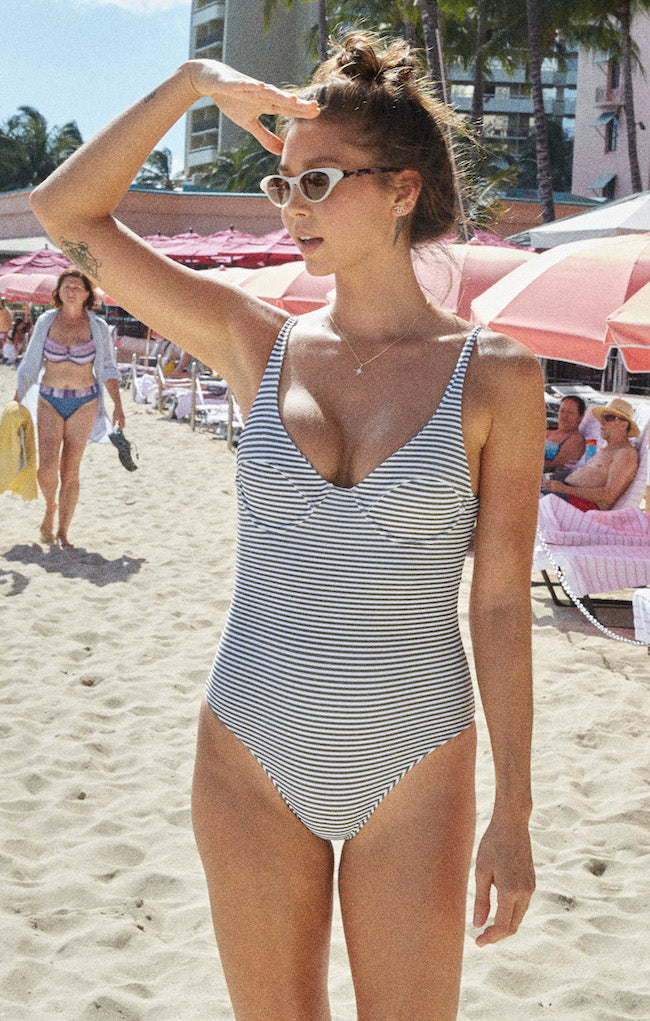 Jane One Piece | Sea Stripe