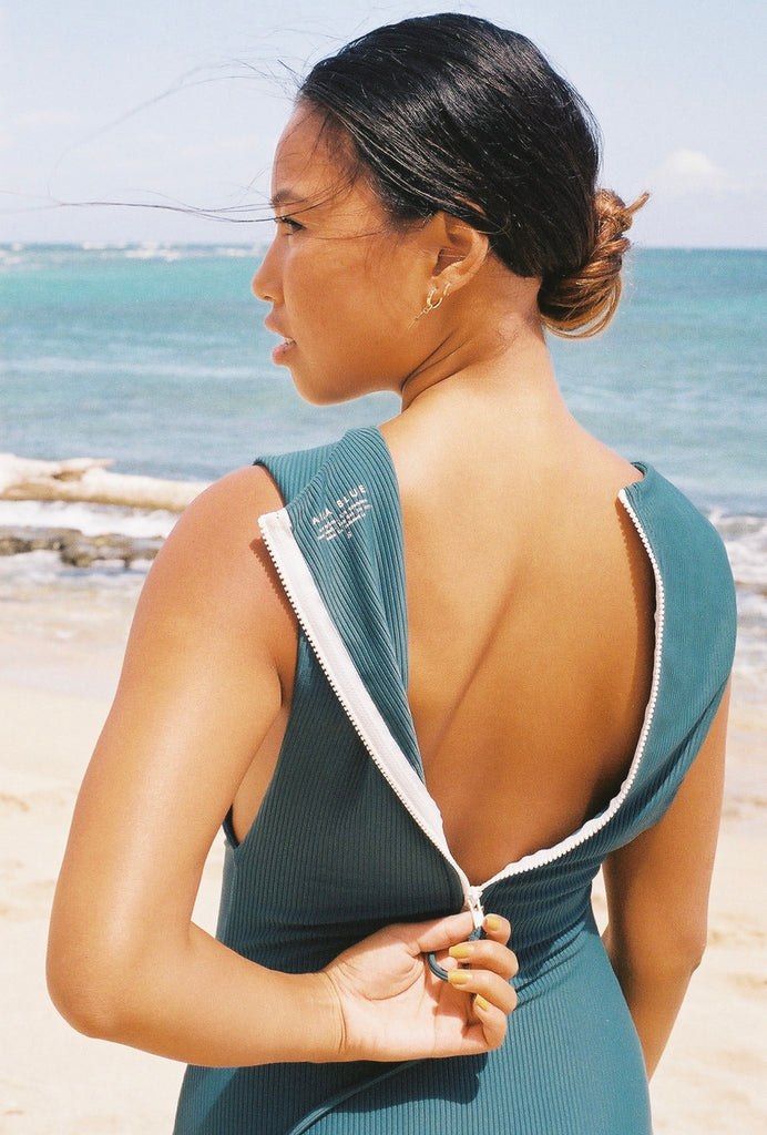 Oracle One Piece - Teal Rib