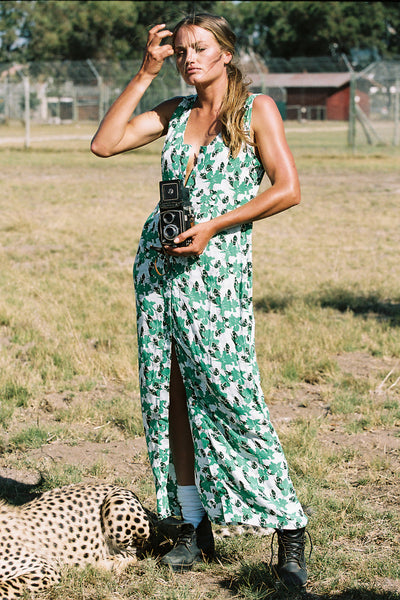 Siena Dress | Jungle Iris