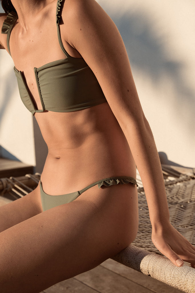 Athena Bottoms - Olive - Eco