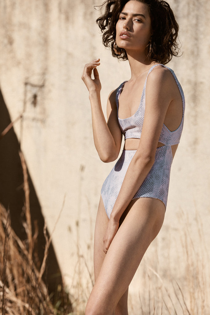 Melrose One Piece | Nude Snake - Eco