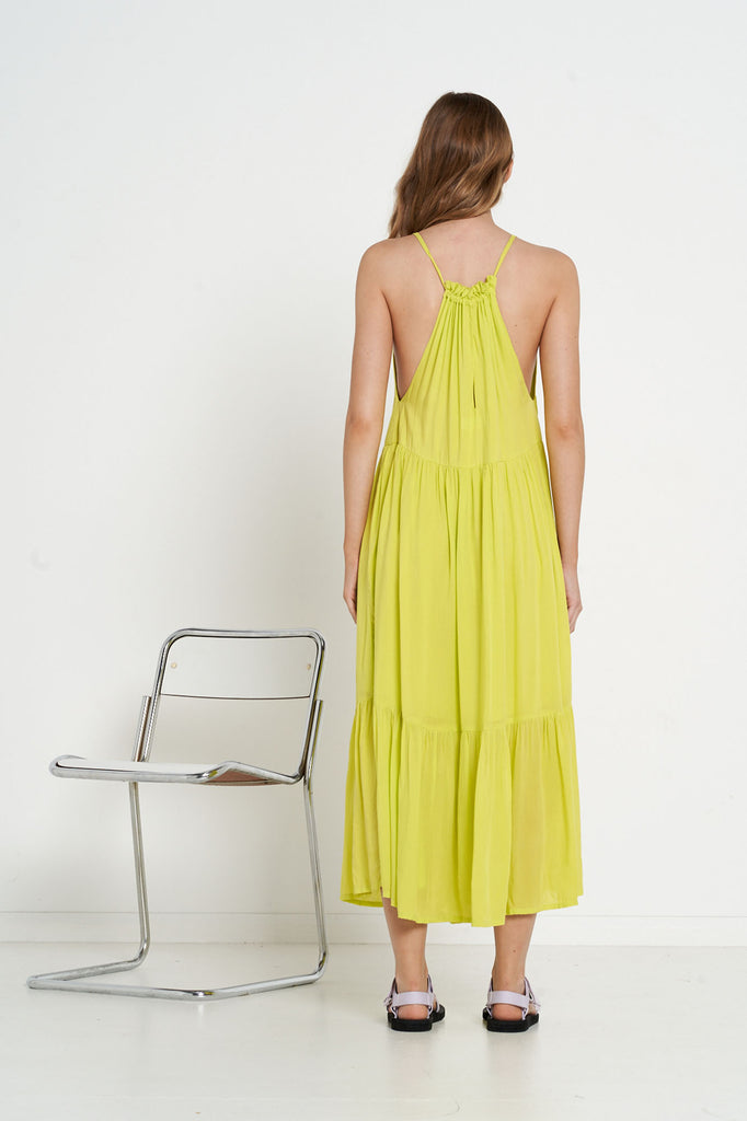 Crescent Dress - Citron