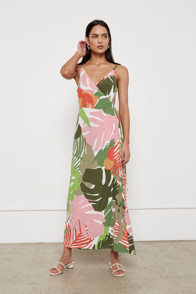 Cleopatra Dress - Jungle