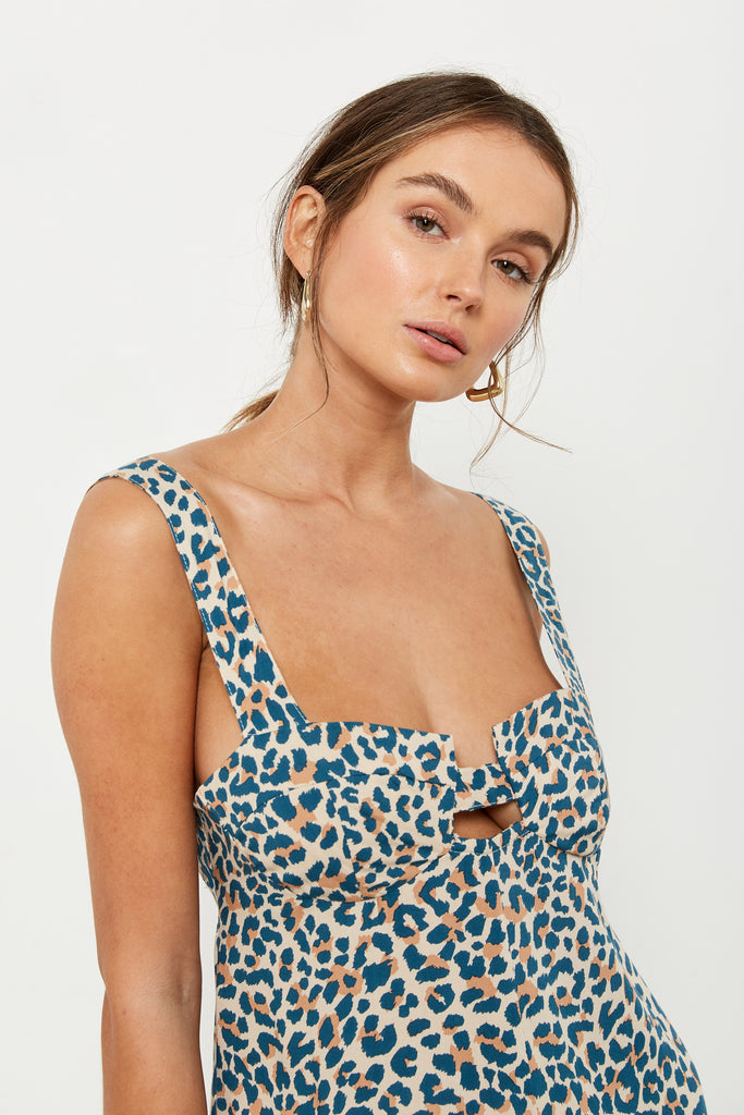 Jenny Jumpsuit - French Leopard