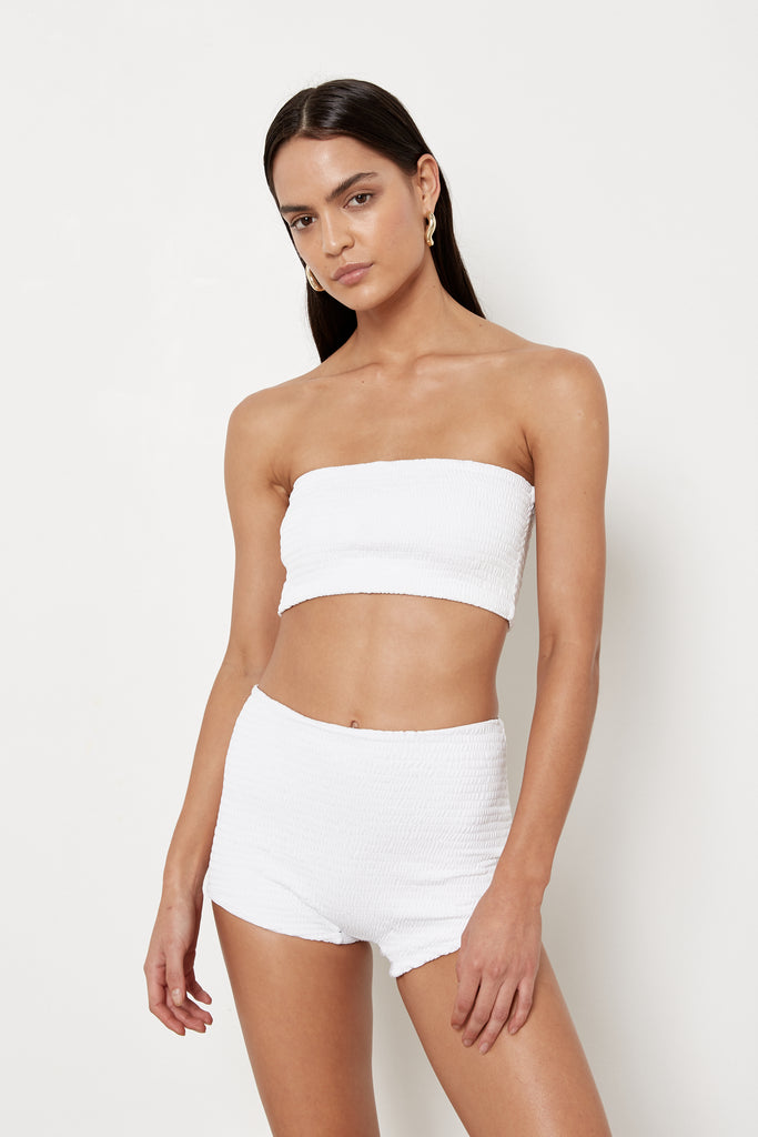 Pica Bottoms - White Rib - Eco
