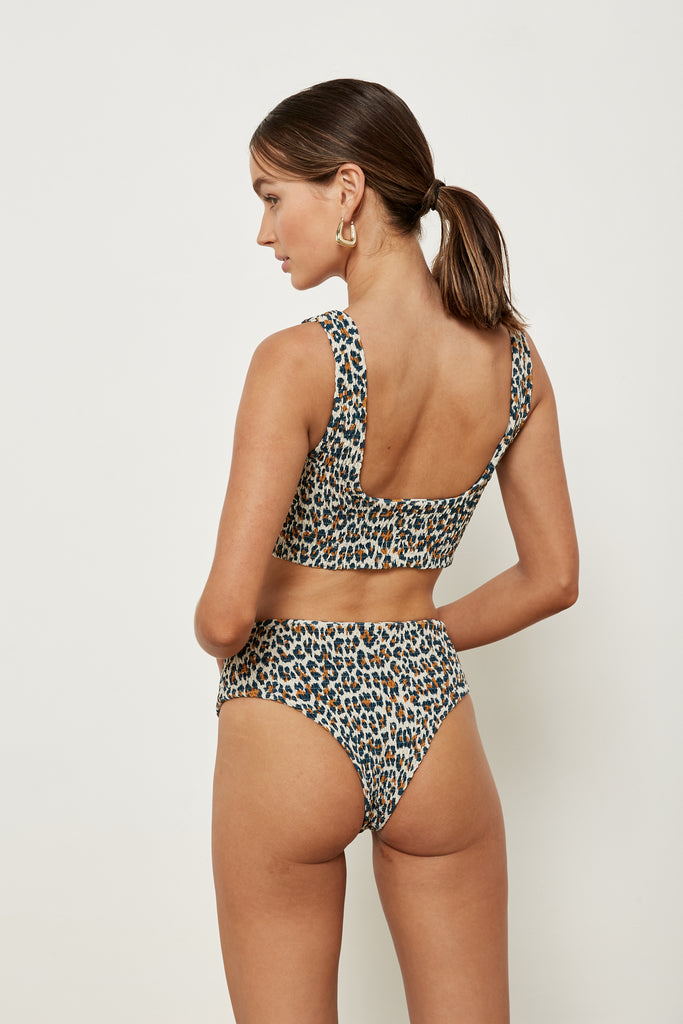 Pixie Top - French Leopard - Eco