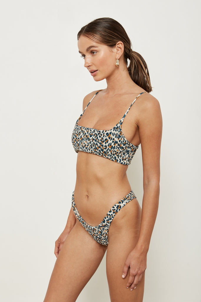 Alice Top - French Leopard - Eco