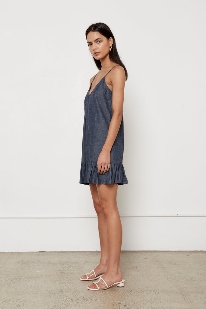 Margarita Dress - Chambray