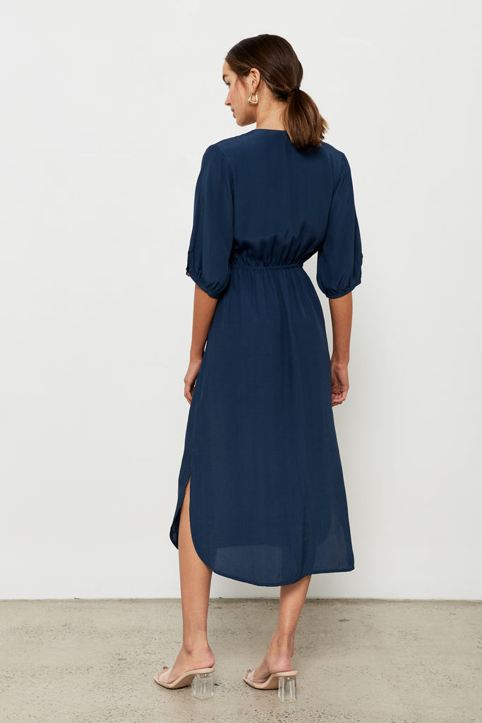 Torch Dress - Azure