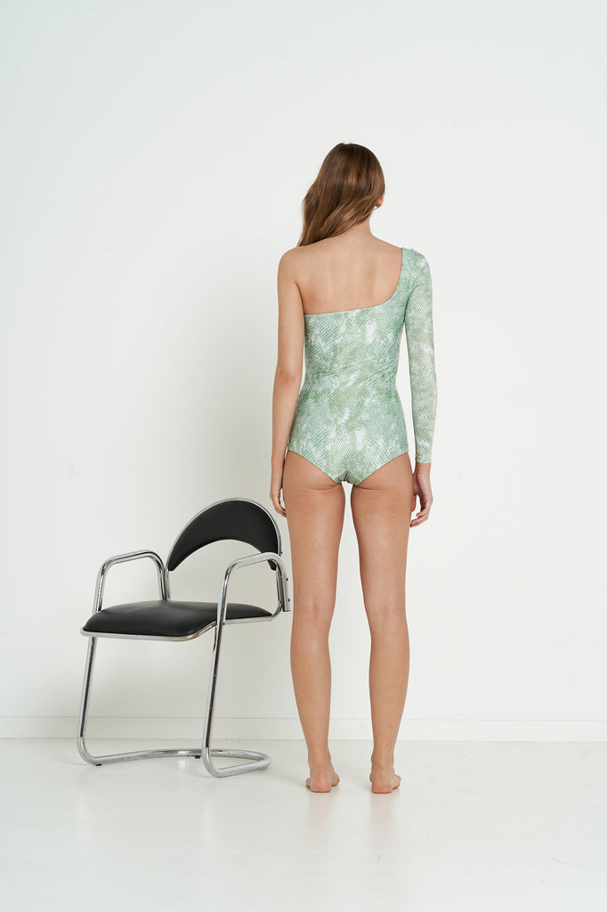 Ryder One Piece | Olive Snake - Eco