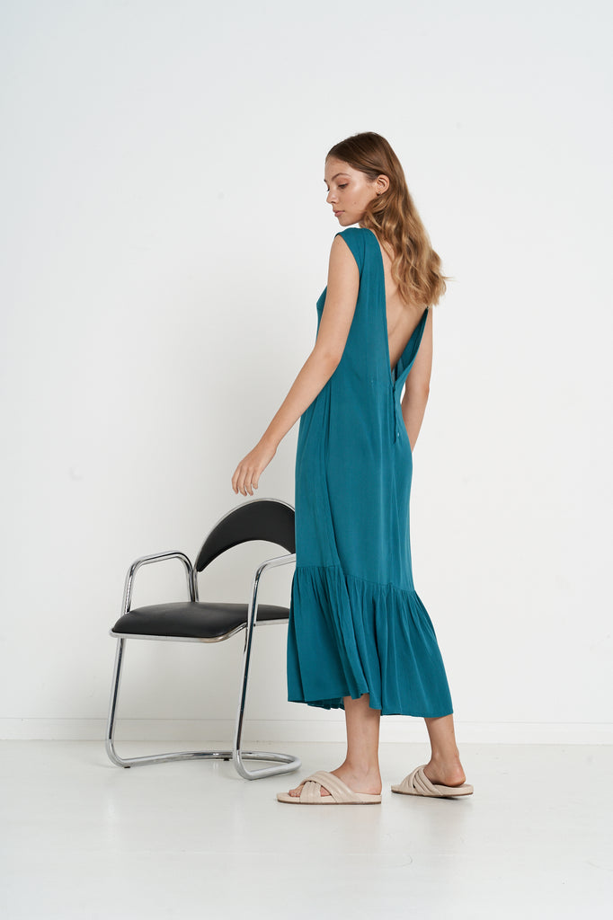 Inverness Dress - Teal