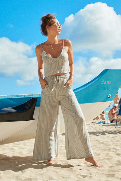 Elvis Pants | Sea Stripe